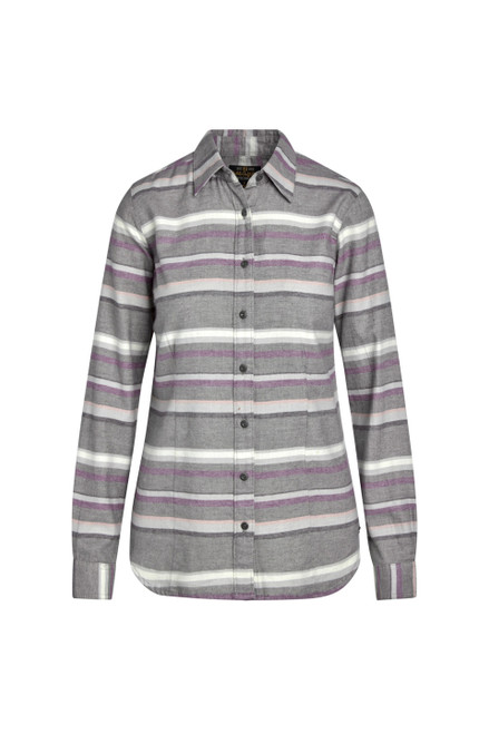 Noble Outfitters Womens Downtown Flannel Long Sleeve Shirt