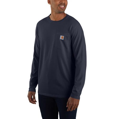 Carhartt Force Mens Flex Pocket Long Sleeve T-Shirt
