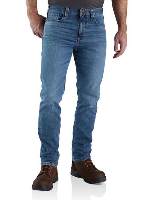 Carhartt Mens Rugged Flex Straight Fit Tapered Leg Jean