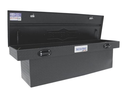 BETTER BUILT ALUMINUM CROSSOVER STANDARD DEEP TRUCK TOOL BOX- MATTE BLACK