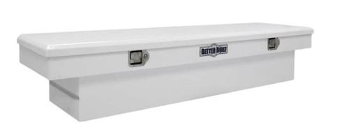 """BETTER BUILT 70"""" STEEL CROSSOVER STANDARD TRUCK TOOL BOX- WHITE"""
