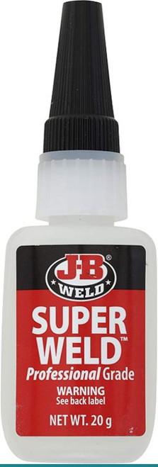 JB Weld SuperWeld Professional Grade Clear Super Glue