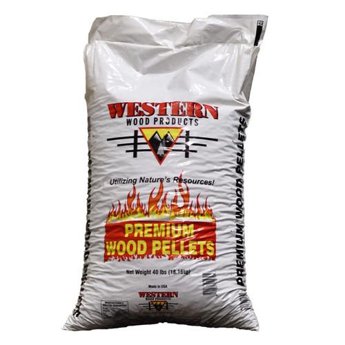 Western Wood- WOOD PELLETS 40#