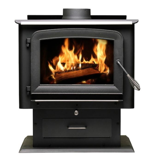 US Stove 2,500 sq. ft. Wood Burning Stove - AW2520E-P