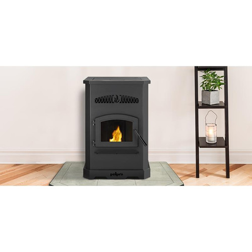 Hearth & Home- Pelpro PP130 Pellet Stove- Black