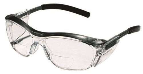 3M Safety Glasses, Magnifier/Reader, Clear Lens