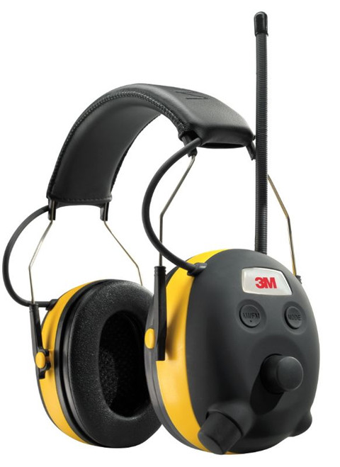 3M TEKK Protection Digital WorkTunes Hearing Protector and AM/FM Stereo Radio