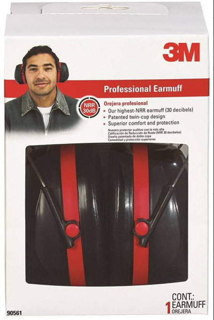 3M Professional Hearing Protector Earmuffs