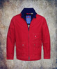 This red shade with it's subtle stitching showing it's quality details is a great classic.