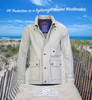 I own a Silver windbreaker, in the sunlight very cool, on cloudy & rainy days it seems to glow! Due to the light color, very comfortable on warm days too!Fabulous shell. Bert Pulitzer