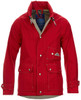 RED Our unique Orange color has been created for us by Bert Pulitzer our designer.  An Orange tinted in red, you will get compliments whenever you are  wearing this jacket guaranteed. Told to us by all customers who own one:)