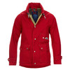 This  red  is a great choice. The color red is a great neutral so this jacket will coordinate with any combination in your wardrobe.