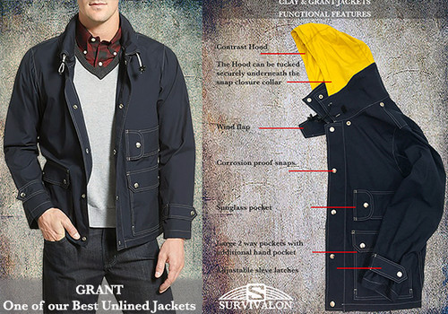 A perfect all around jacket that we named after President Ulysses S. Grant