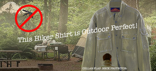 Outdoors is more fun when you have some added protection.