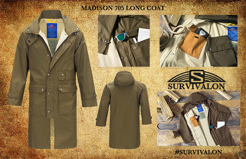 a new lightweight top coat that will protect you from weather and carry your stuff, https://www.survivalon-llc.com/madison-705-lined-top-coat-new/