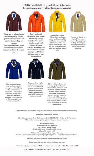 Survivalon Jackets and Vests Make Perfect Holiday Gifts