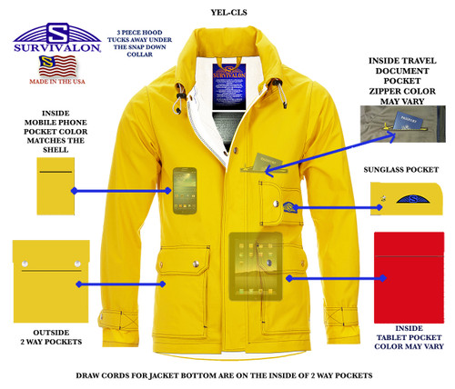 I designed my first SURVIVALON® jacket in 1975. With a few technical updates, my classic jackets are still true to what made them classics! www.survivalon-llc.com They are on sale now during the shutdown.