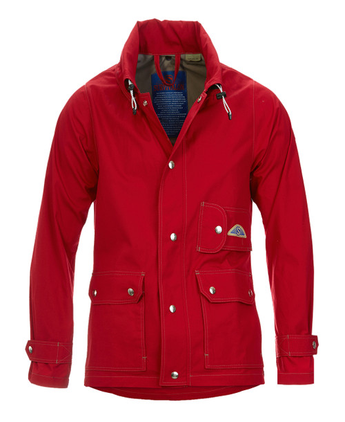 If you are a bright jacket guy, this is a handsome color both classic and a stand out richly toned shade. Blends with your wardrobe, this red works as a neutral. Looks great with jeans, shorts and khakis.