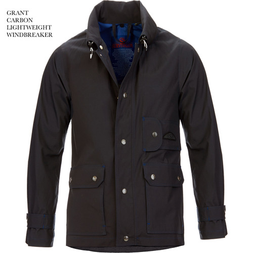 CARBON is our charcoal, It's neutral color will coordinate with everything in your wardrobe. Our unlined jackets are used in both warmer and cooler climates. When daily temperatures range from warm to cool to hot to cold then back to warm again  just add or subtract your sweater or in real cold add a down puffy shirt.