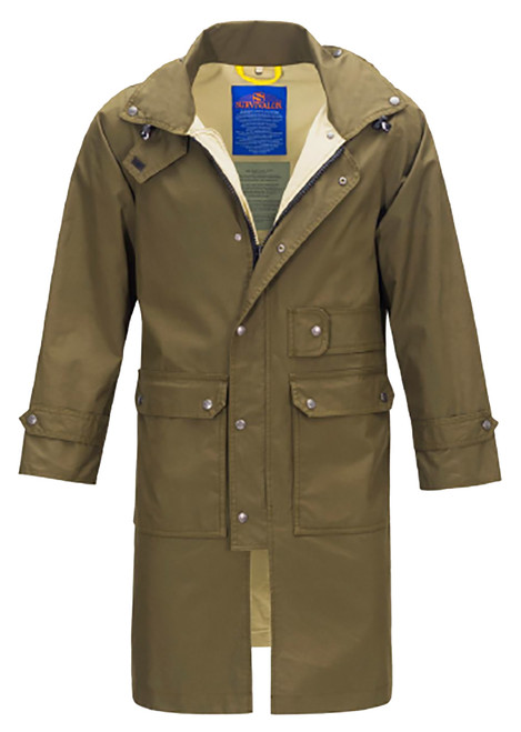 THE MADISON 707 is the newest jacket/coat in the men's outerwear market. A featherweight long coat carries your tablet, phone, papers and stuff. Water Repellent & Windproof. The longer length protects your legs from weather. easily packable for travel and light-weight so great for plane luggage.