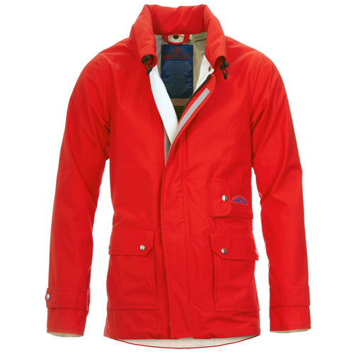 This unique Orange color has been created for us by Bert Pulitzer our designer.  An Orange tinted in red, you will get compliments whenever you are  wearing this jacket guaranteed. Told to us by all customers who own one:)