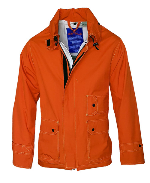 International Orange a true Internationally recognized active color. Looks great with chinos & jeans.  Always a toss up between International Orange and Yellow, both are active outdoor colors.