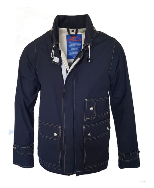 Navy is our most basic classic color. Always in good taste plus with the new contrast stitching this navy jacket shows off the functional pockets with an enhanced look. Still a classic, still for the conservative man who likes to be recognized.