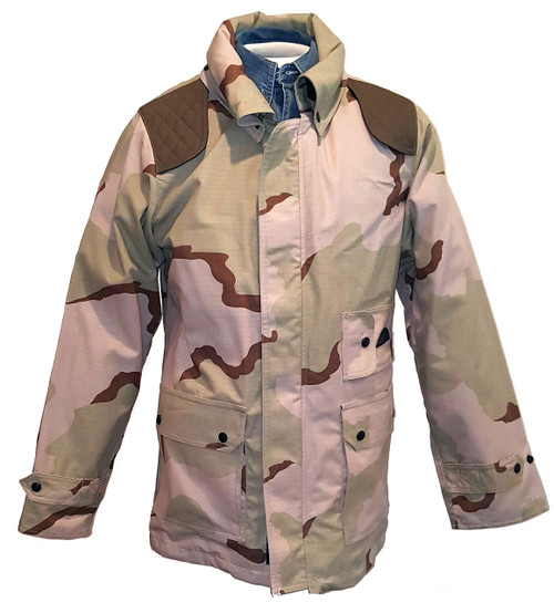 CAMO TWO is pure desert concealment, deep shades for extra protection at dawn and usk..