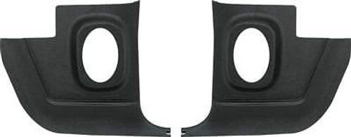 1967-76 Mopar A-Body Kick Panels With Speaker Openings (Without Speakers)