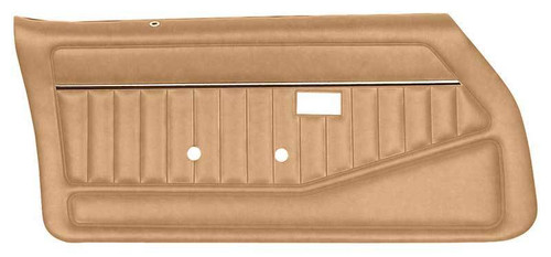 1978-81 Camaro / Firebird Camel Tan Standard Pre-Assembled Door Panels
