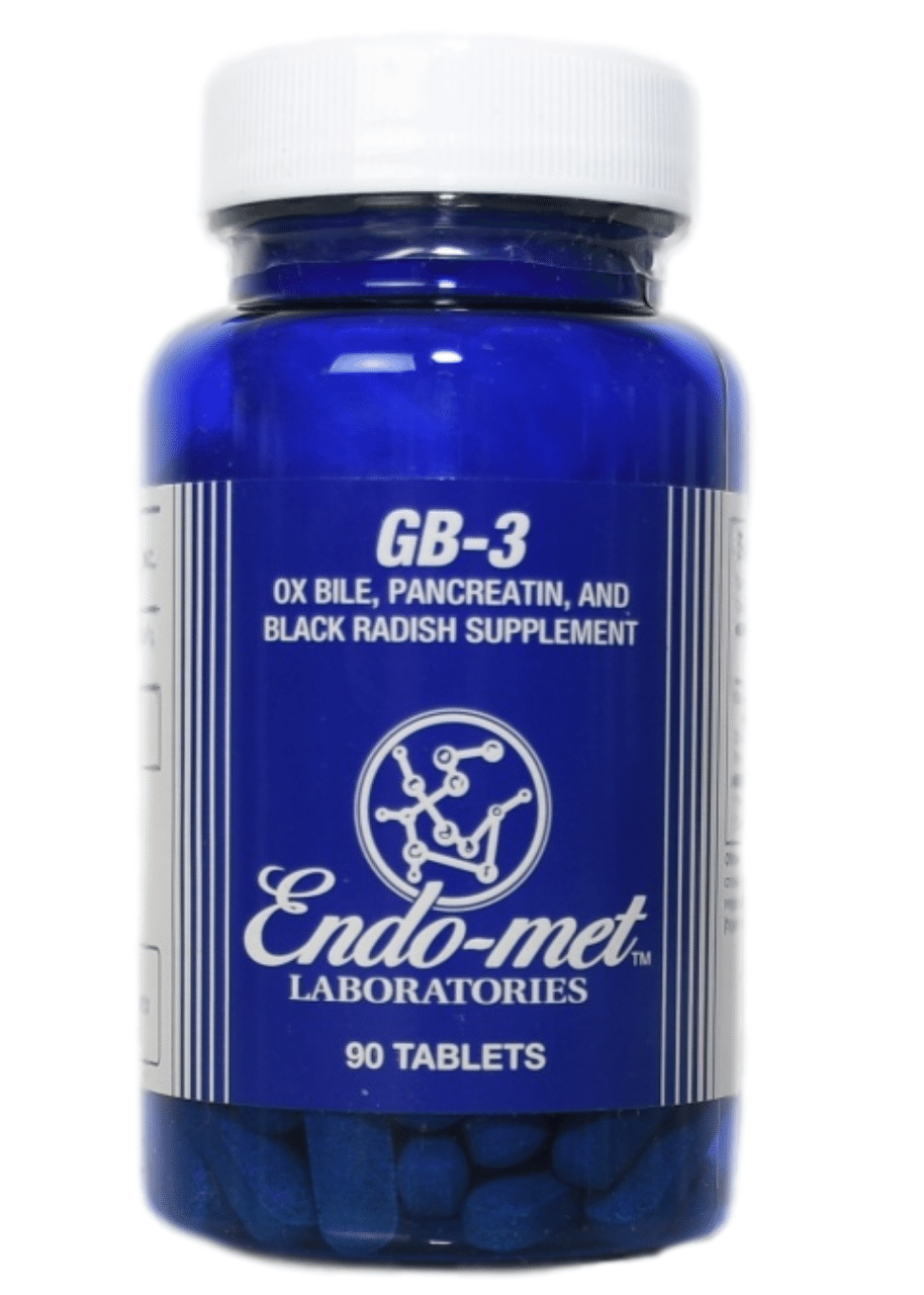 Endo-met GB-3 (90 Tablets)