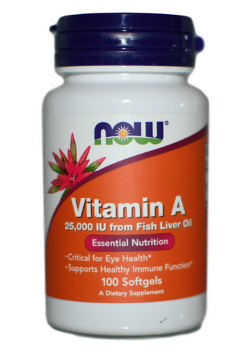 NOW Foods Vitamin A 100 at WellnessShoppingOnline