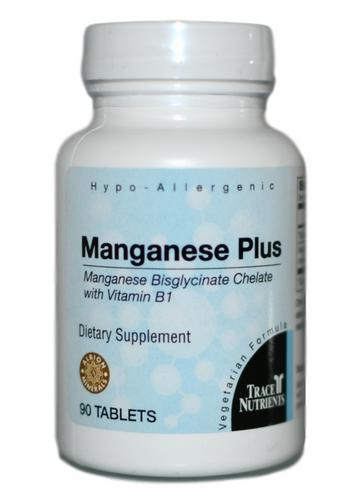 Trace Elements Manganese Plus 90 at WellnessShoppingOnline
