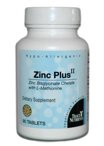 Trace Elements Zinc Plus II 90 at WellnessShoppingOnline