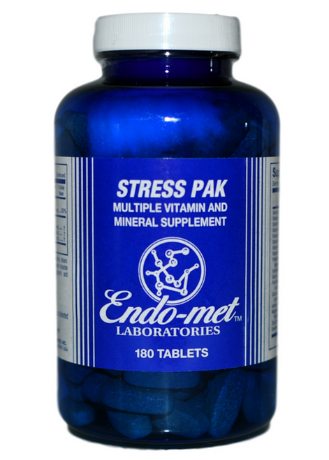 Endo-met Stress Pak (180) at WellnessShoppingOnline