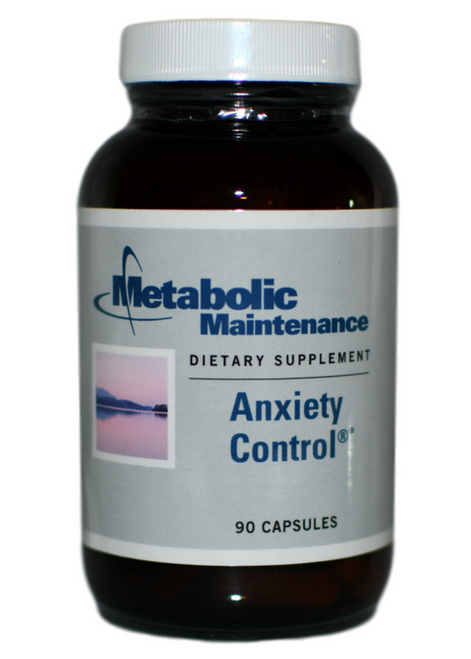 Metabolic Maintenance Anxiety Control (90) WellnessShoppingOnline