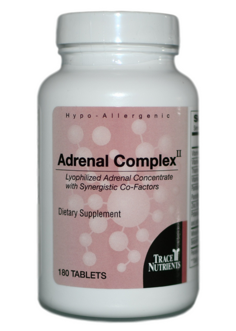 Trace Elements Adrenal Complex II 180 at WellnessShoppingOnline