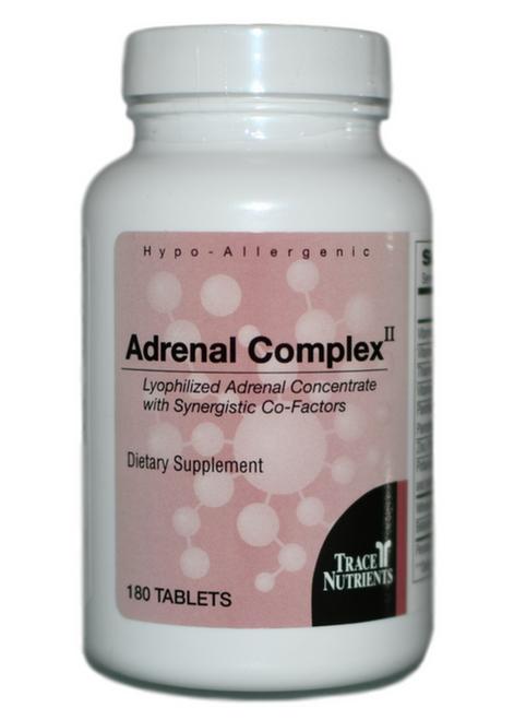 Trace Elements Adrenal Complex II 180 at WellnessShoppingOnline