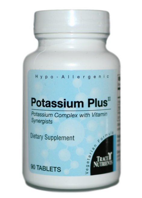 Trace Elements Potassium Plus II 90 at WellnessShoppingOnline