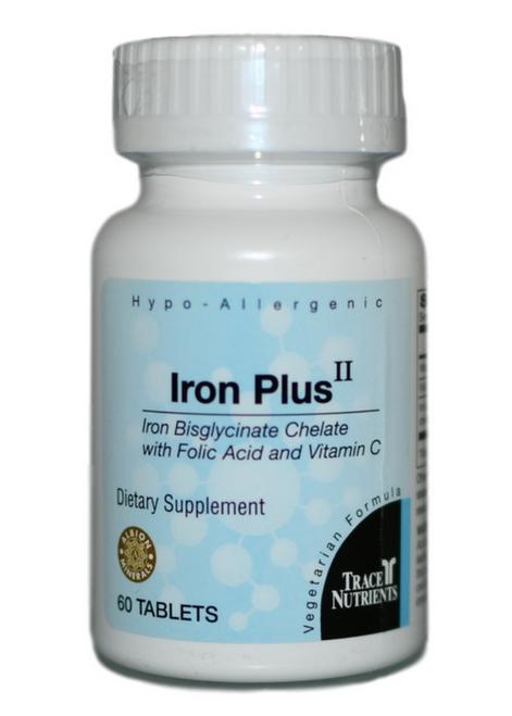 Trace Elements Iron Plus II 60 at WellnessShoppingOnline