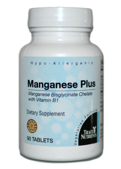 Trace Elements Manganese Plus 90 at WellnessShoppingOnline