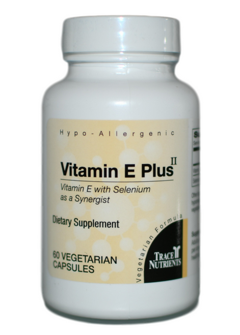 Trace Elements Vitamin E Plus II 60 at WellnessShoppingOnline