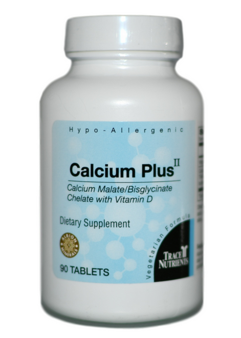 Trace Elements Calcium Plus II 90 at WellnessShoppingOnline