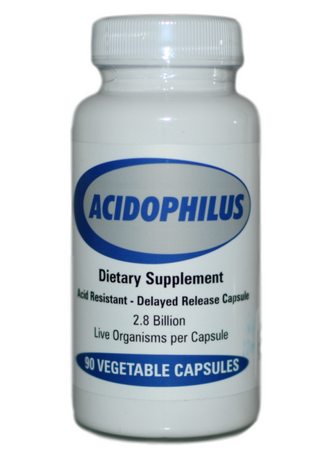 Progressive Laboratories Acidophilus (90) at WellnessShoppingOnline