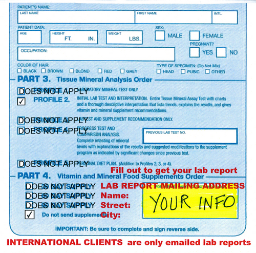 Scanned Lab Report Fee