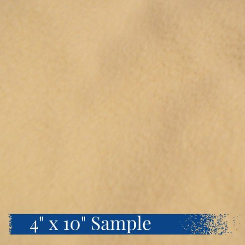 4 inch by 10 inch sample of 80/20 Organic Bamboo and Cotton Fleece fabric