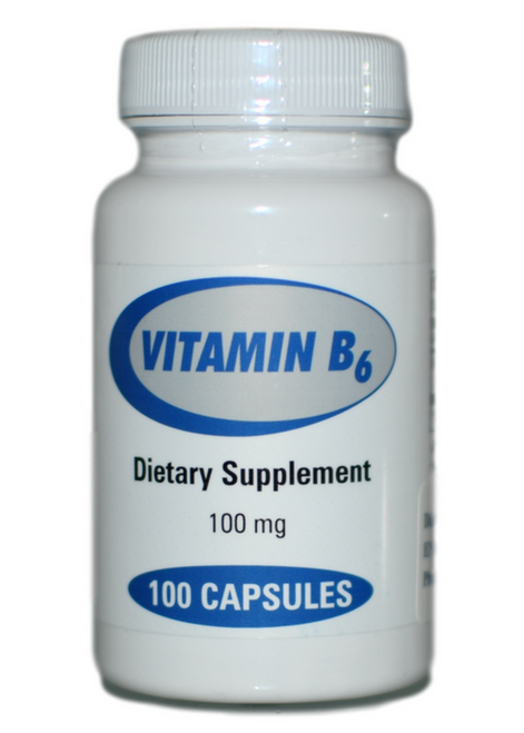 Progressive Laboratories Vitamin B6 100 at WellnessShoppingOnline