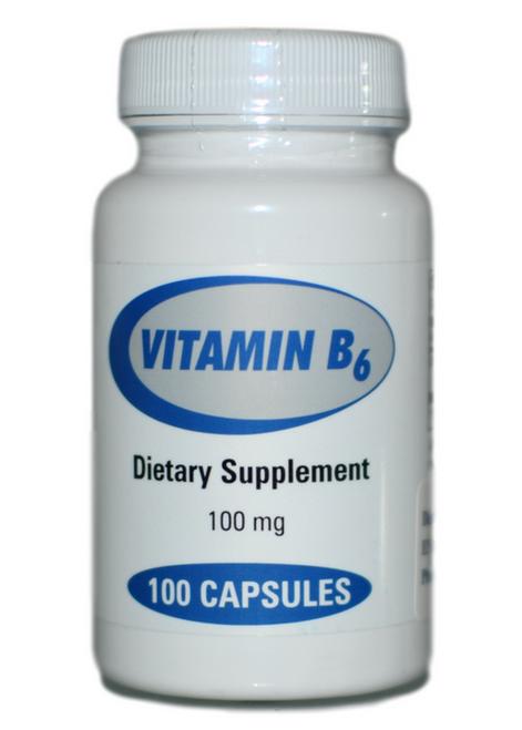 Progressive Laboratories Vitamin B6 100 at WellnessShoppingOnline