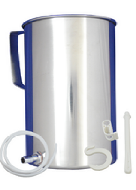 Enema Bucket Kit - Stainless Steel (2 Liters)