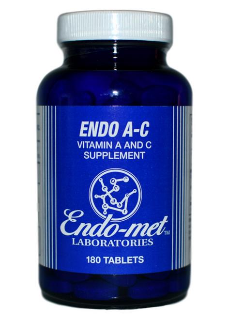 WSO معامل إندوميت- فيتامين أ-ج (180 قرص) على موقع